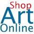 Art Online Shop Logo